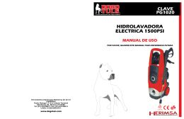 hidrolavadora electrica 1500psi manual de uso