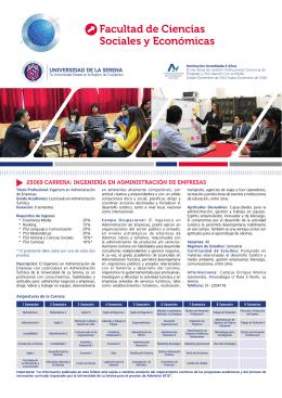 Facultad de Ciencias Sociales y Económicas