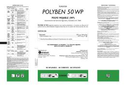 Polyben 50 WP - Servicio Agrícola y Ganadero