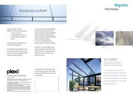 PLEXIGLAS ALLTOP® La Noble