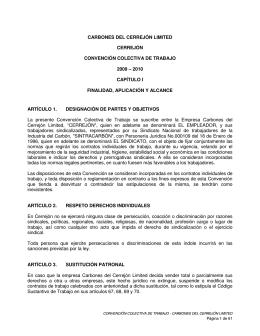 CCT_2009-2010_LP - Sindicato de Trabajadores de la Industria del