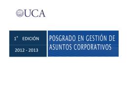 PGAC - Palmieri - Universidad Católica Argentina