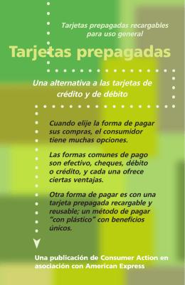 Prepaid Cards (Spanish)