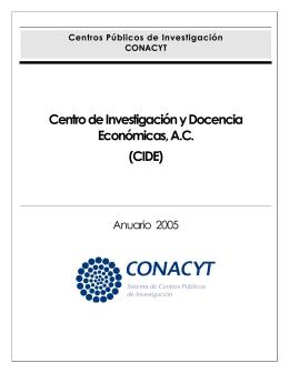 Centro de Investigación y Docencia Económicas, AC (CIDE)