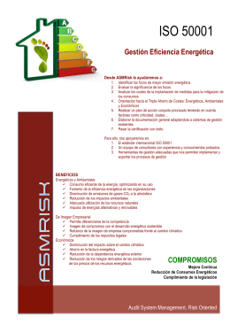 FOLLETO ISO 50001