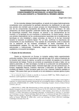 93 transferencia internacional de tecnología y condicionamientos