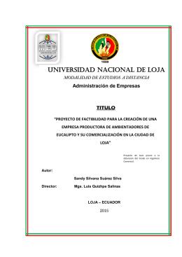 Sandy Silvana Suárez Silva - Repositorio Universidad Nacional