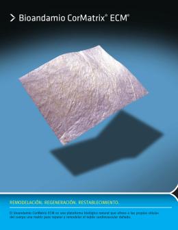 Bioandamio CorMatrix® ECM® ix ECM®