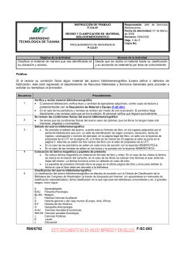 R00/0702 F-SC-003 - Universidad Tecnologica de Tijuana