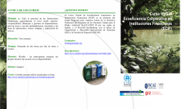 Folleto - UNEP Finance Initiative