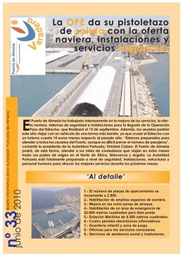 Revista Varadero 33 - Autoridad Portuaria de Almería
