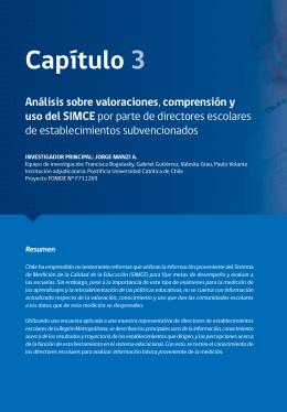 Capítulo 3 - Programa Avanzado en Dirección y Liderazgo Escolar