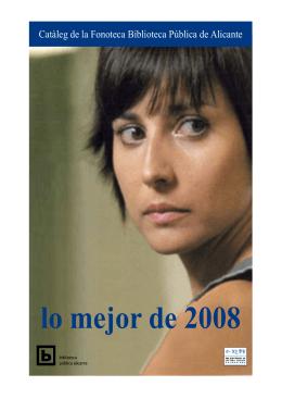 lo mejor de 2008