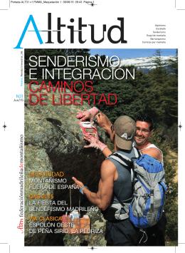 Revista Altitud Número 31 Junio 2015