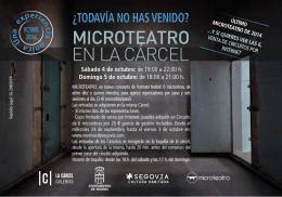 Octubre - Microteatro Por Dinero