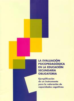 La evaluación psicopedagógica en la Educación Secundaria