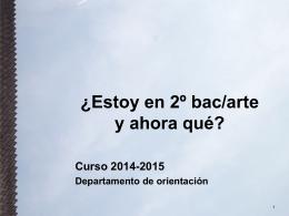 Diapositiva 1 - Escuela de Arte de Pamplona