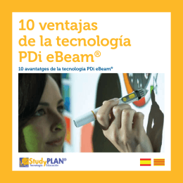 10 ventajas de la tecnología PDi eBeam®