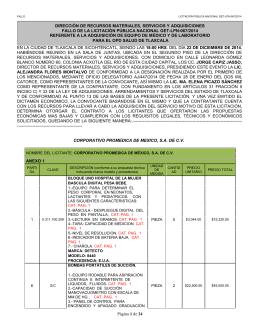 Fallo LPN 067-2014 - Salud de Tlaxcala