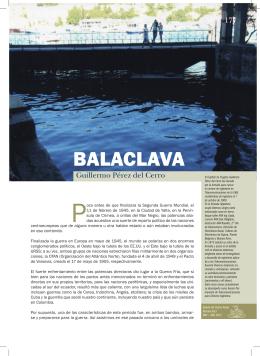 BALACLAVA - Centro Naval