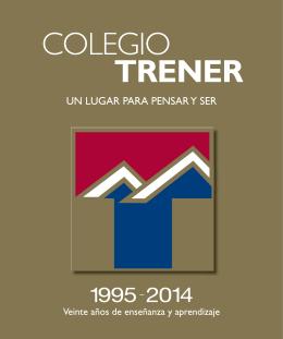 Libro 20 años - Colegio Trener
