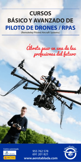 Folleto Pilotos DRONES