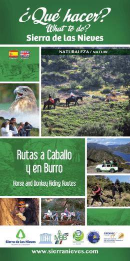 folleto en pdf - La Sierra de las Nieves