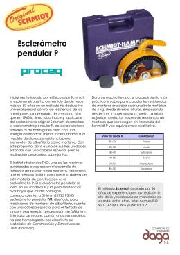 Esclerómetro pendular P