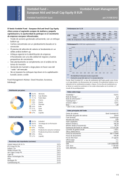 Vontobel Fund – European Mid and Small Cap
