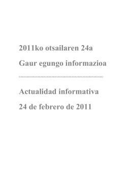 2011ko otsailaren 14a