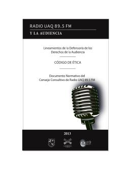 Código de Ética Radio UAQ 89.5 FM