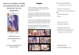 MANUAL DE TRABAJO SOBRE LOS ARQUETIPOS DEL TAROT