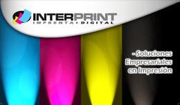 AFICHES Y MINI BANNER - Soluciones Empresariales en Impresión