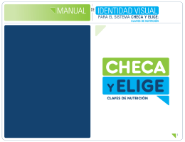 MANUAL DE IDENTIDAD VISUAL - Alianza por una Vida Saludable