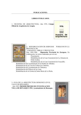 PUBLICACIONES. LIBROS PUBLICADOS. 1.
