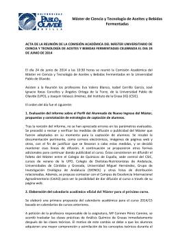 Acta 5 - Departamento de Sociología de la Universidad Pablo de