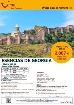 2.087 € ESENCIAS DE GEORGIA