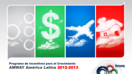 AMWAY América Latina 2012-2013