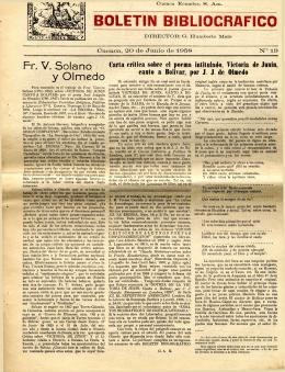 BOLETIN 1958 NO. 19