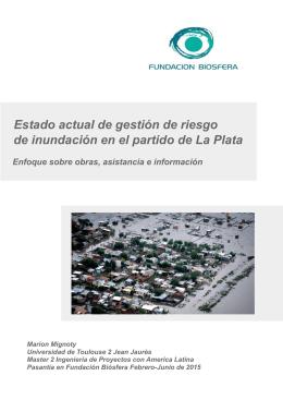 Informe - Fundación Biosfera
