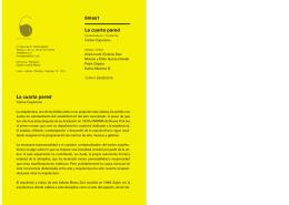 folleto de exposición