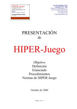 HIPER-Juego