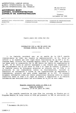 governing body con5eil d`admini5tration con5ejo de