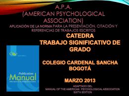 Cita - Colegio Cardenal Sancha
