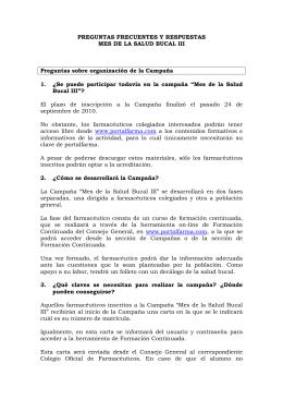 PREGUNTAS FRECUENTES salud bucal III.doc