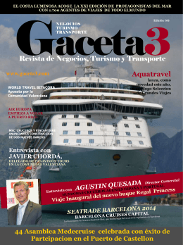 Revista de Negocios, Turismo y Transporte Aquatravel