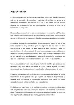 PRESENTACIÓN - Repositorio Digital EPN