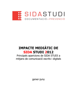 Desde SIDA STUDI: una historia, cuatro finales « El blog de tu
