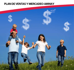 Plan de Ventas y Mercadeo Amway