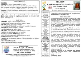 25 Enero 2015 - Iglesia Cristiana Evangélica de Colmenar Viejo